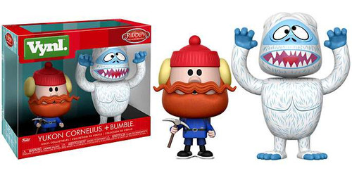 Funko Rudolph the Red-Nosed Reindeer Vynl. Bumble & Yukon Cornelius Vinyl Figure 2-Pack