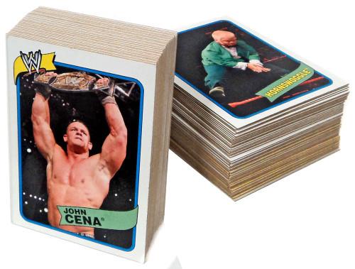 WWE Wrestling Topps 2007 WWE Heritage Series 3 Complete Set