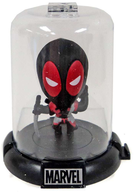 Marvel Domez Series 2 Deadpool Figure [Black Suit]