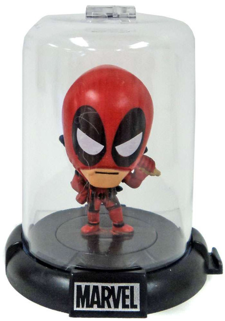 Marvel Domez Series 4 Deadpool Figure [Red Suit]