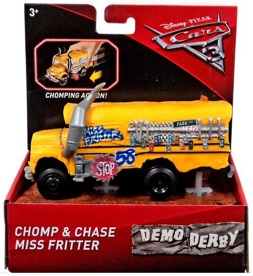 Disney / Pixar Cars Cars 3 Demo Derby Chomp & Chase Miss Fritter Vehicle