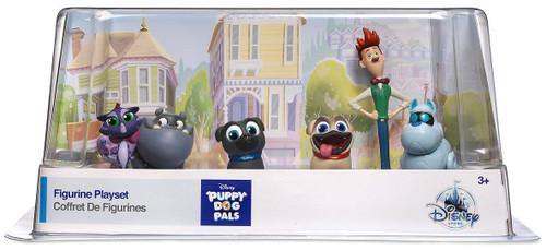 Disney Junior Puppy Dog Pals Exclusive 6-Piece PVC Figure Play Set [2017]
