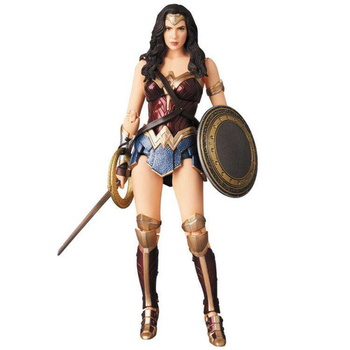 DC Justice League MAFEX Wonder Woman Action Figure #060 [Justice League]