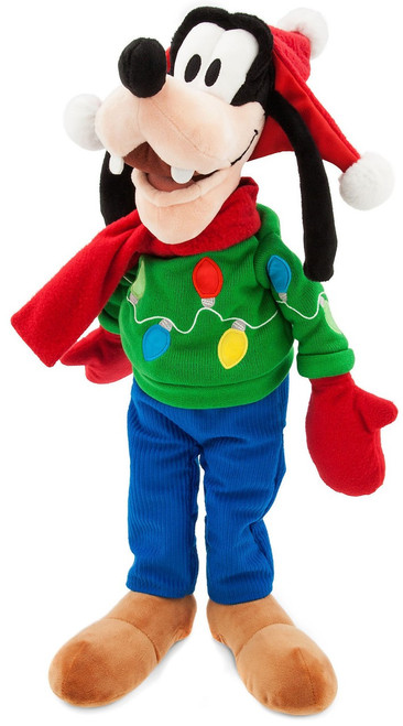 Disney 2017 Holiday Goofy Exclusive 19-Inch Plush