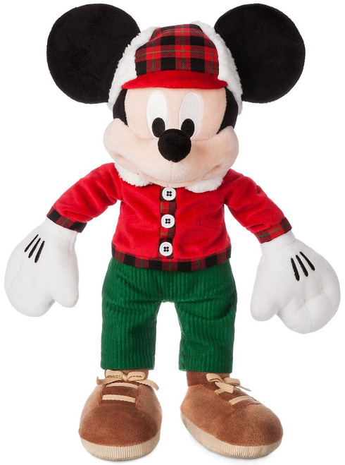 Disney 2017 Holiday Mickey Mouse Exclusive 15-Inch Plush