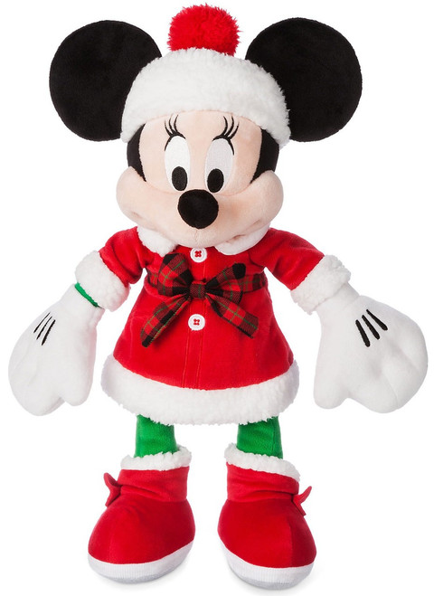 Disney 2017 Holiday Minnie Mouse Exclusive 15-Inch Plush