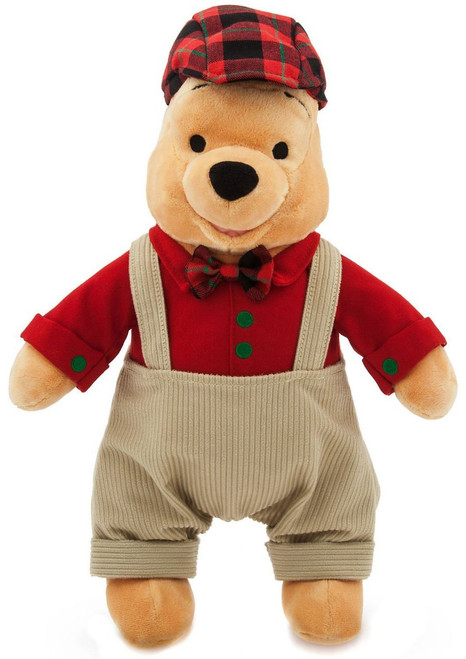 Disney 2017 Holiday Winnie the Pooh Exclusive 16-Inch Plush