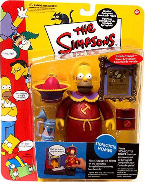 The Simpsons Series 10 Homer Simpson Action Figure [Stonecutter]