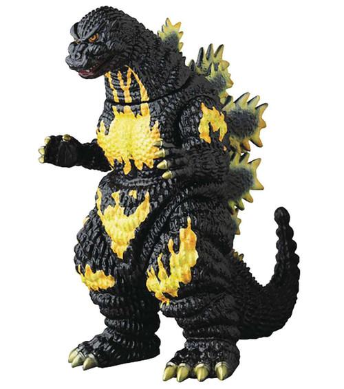 Godzilla Vs Destroyah Sofubi Burning Godzilla Vinyl Figure [Closed Mouth Version]