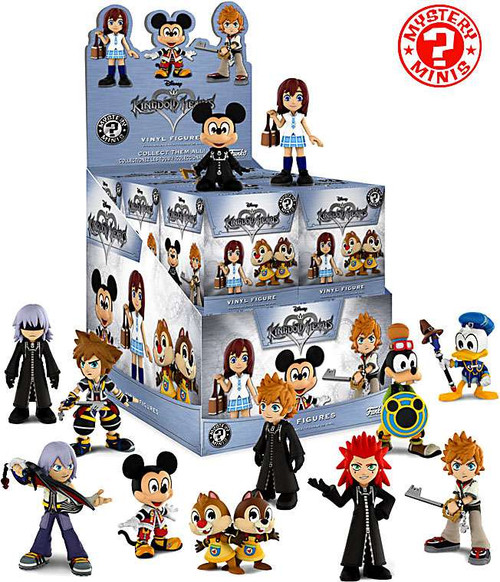 Funko Disney Mystery Minis Kingdom Hearts Mystery Box [12 Packs]