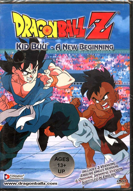 Dragon Ball Z Kid Buu A New Beginning (UNCUT) DVD