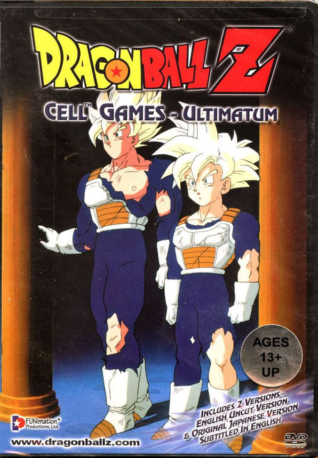Dragon Ball Z CELL GAMES SAGA Ultimatum (UNCUT) DVD