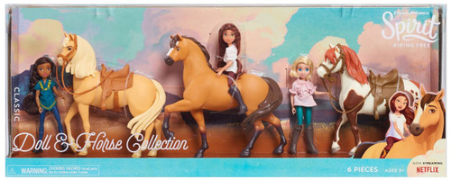 Spirit Riding Free Classic Series Doll & Horse Collection Exclusive 6-Pack Figure Set [Pru, Chica Linda, Lucky, Spirit, Abigail & Boomerang]