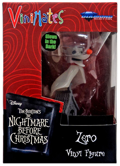 Nightmare Before Christmas ViniMates Zero Exclusive Vinyl Figure [Glow-in-the-Dark]