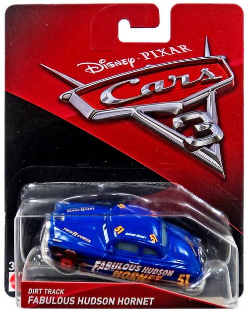 Disney / Pixar Cars Cars 3 Dirt Track Fabulous Hudson Hornet Diecast Car
