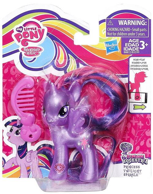 My Little Pony Friendship is Magic Explore Equestria Princess Twilight Sparkle Figure [Pearlescent]