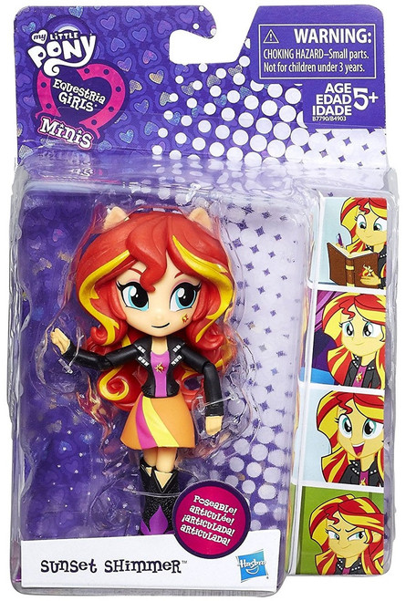 My Little Pony Equestria Girls Minis Sunset Shimmer 4.5-Inch Figure