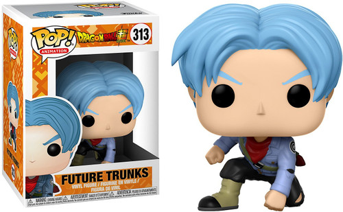 Funko Dragon Ball Super POP! Animation Future Trunks Vinyl Figure #313 [Blue Hair]