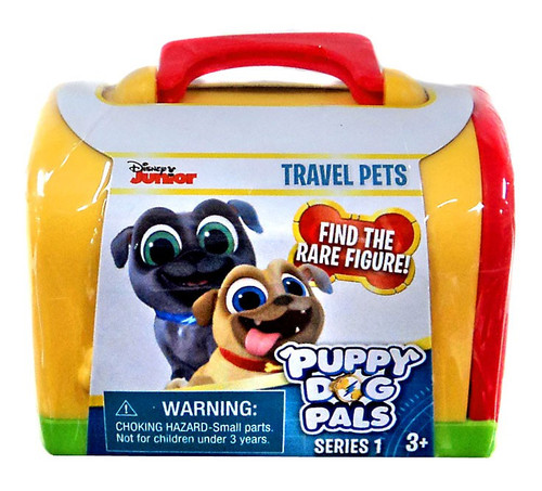 Disney Junior Puppy Dog Pals Series 1 Travel Pets Mystery Pack