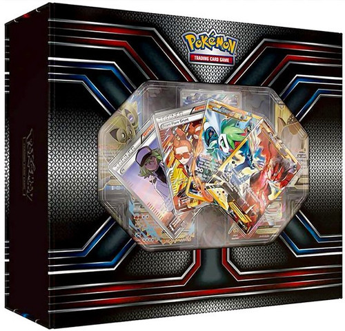 Pokemon Trading Card Game XY Premium Trainer's Collection Box [2 Booster Packs, 14 Promo Cards, 65 Card Sleeves, Coin & More]