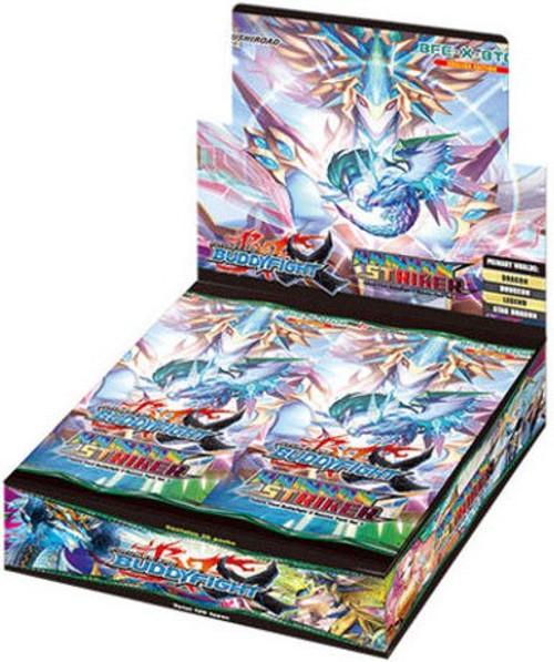 Future Card BuddyFight Trading Card Game Rainbow Striker Booster Box BFE-X-BT04 [30 Packs]