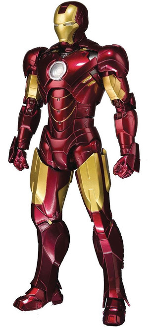 Tamashii Nations Marvel S.H. Figuarts Iron Man Mark IV & Hall of Armor Set Action Figure