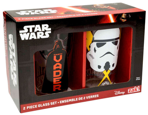 Star Wars Darth Vader & Stormtrooper 2 Piece Pint Glass Set
