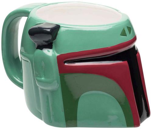 Star Wars Boba Fette Sculpted 14 Ounce Ceramic Mug
