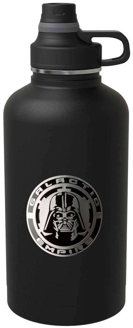 Star Wars Darth Vader Galactic Empire Stainless Steel 64 Ounce Growler