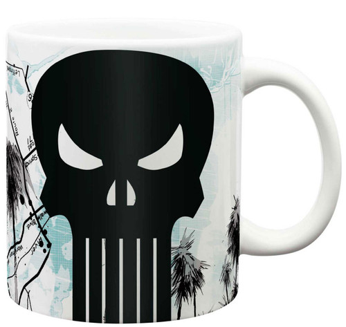 Marvel Universe The Punisher X-Large 24 oz. Ceramic Mug