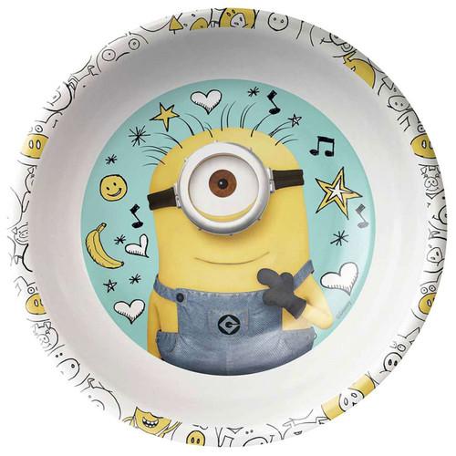Despicable Me Minion Made Minion Cereal Bowl
