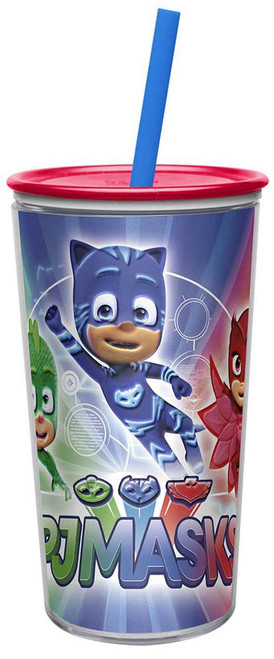 Disney Junior PJ Masks Insulated 10 Ounce Tumbler with Straw