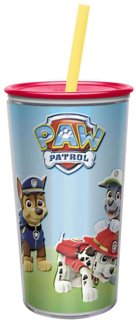 Paw Patrol Insulated Tumbler with Straw