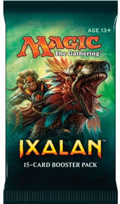 MtG Trading Card Game Ixalan Booster Pack [15 Cards]