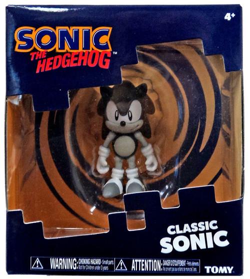 Sonic The Hedgehog Classic Sonic Action Figure [Black & White Deco]