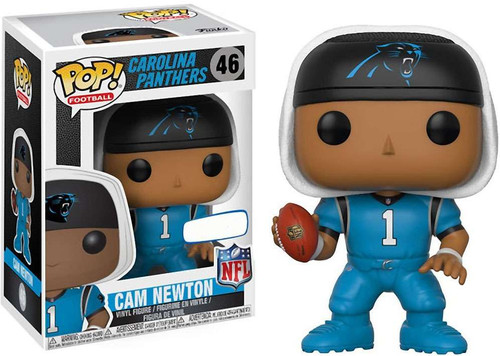 Funko NFL Carolina Panthers POP! Sports Football Cam Newton Exclusive Vinyl Figure [Blue Jersey]