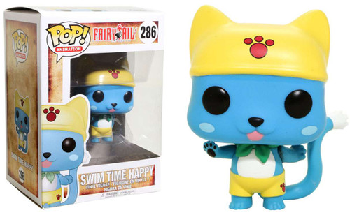 Funko Fairy Tail POP! Animation Swim Time Happy Exclusive Vinyl Figure #286