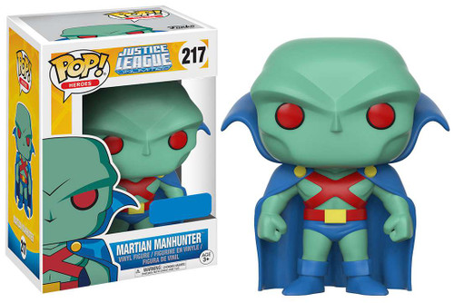 Funko DC Justice League Unlimited POP! Heroes Martian Manhunter Exclusive Vinyl Figure #217 [217]
