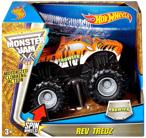 Hot Wheels Monster Jam 25 Rev Tredz Prowler Vehicle