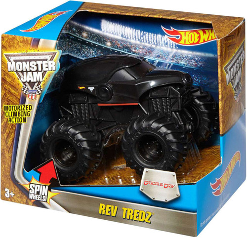 Hot Wheels Monster Jam 25 Rev Tredz Doom's Day Vehicle