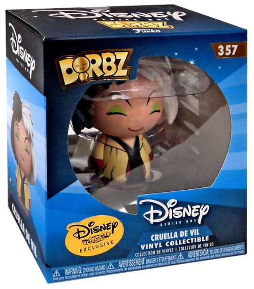 Funko Disney Dorbz Cruella De Vil Exclusive Vinyl Figure #357 [Haunted Forest]