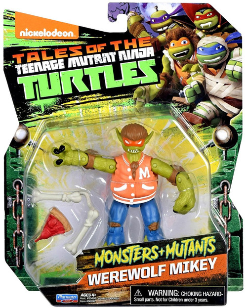 Teenage Mutant Ninja Turtles Tales of the TMNT Monsters + Mutants Werewolf Mikey Action Figure