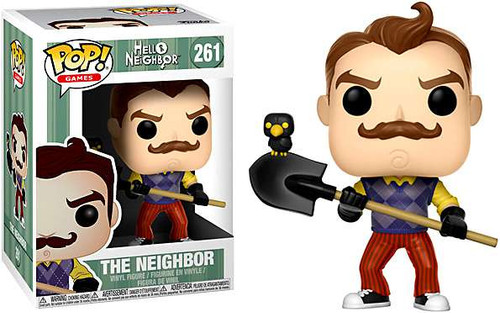 Funko Hello Neighbor POP! Games The Neighbor Vinyl Figure #261