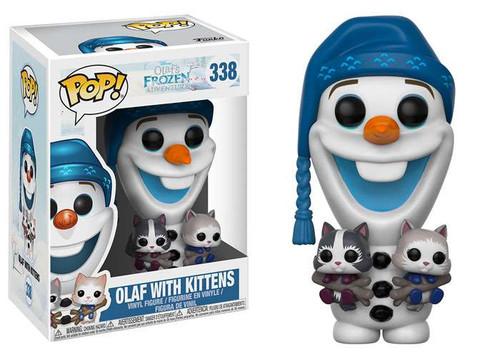 Funko Disney Frozen POP! Movies Olaf with Kittens Vinyl Figure #338