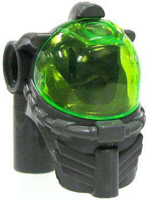 LEGO Atlantis Dark Gray Dive Harness with Green Dome [Loose]