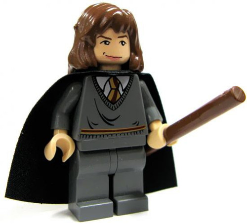 LEGO Harry Potter Hermione Granger with Wand and Black Cape with Stars Minifigure [Loose]
