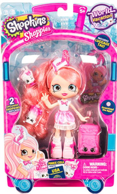 Shopkins Shoppies Season 8 World Vacation Pinkie Cola Doll Figure [Visits USA]