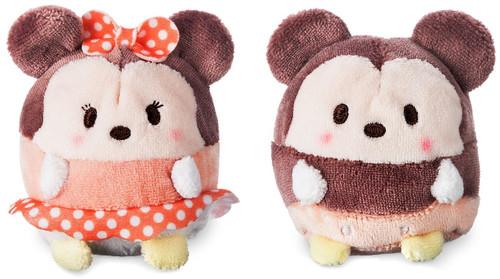 Disney Ufufy Mickey & Minnie Exclusive 2.5-Inch Mini Scented Plush Set
