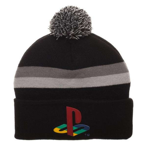 Playstation Logo Chrome Weld Acrylic Beanie Apparel