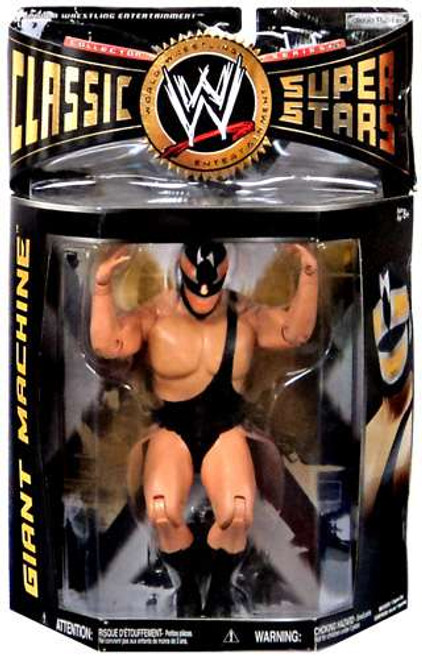 WWE Wrestling Classic Superstars Series 26 Giant Machine Action Figure [Damaged Package]